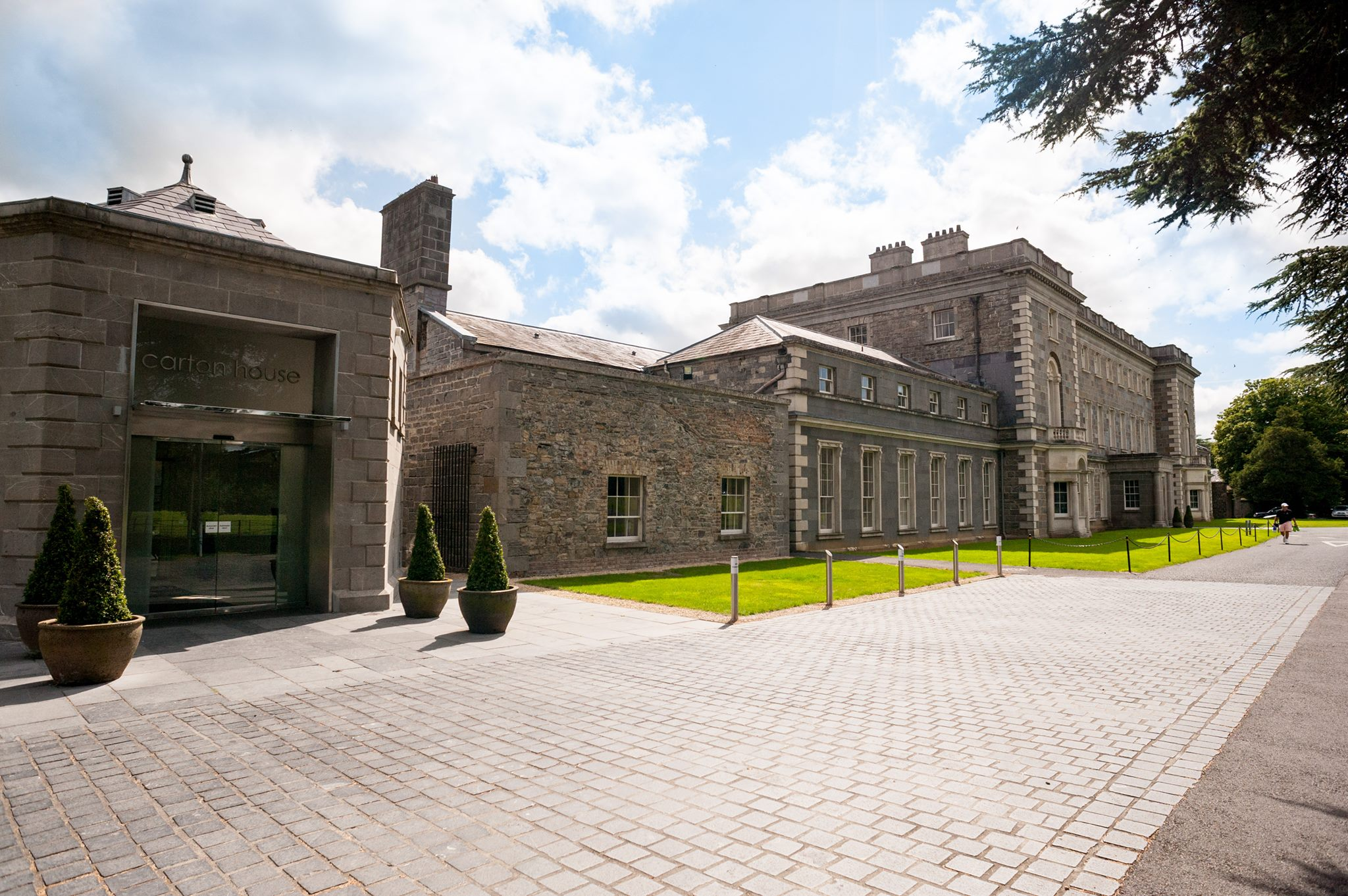 Hotel Fitout-Carton House-Entrance