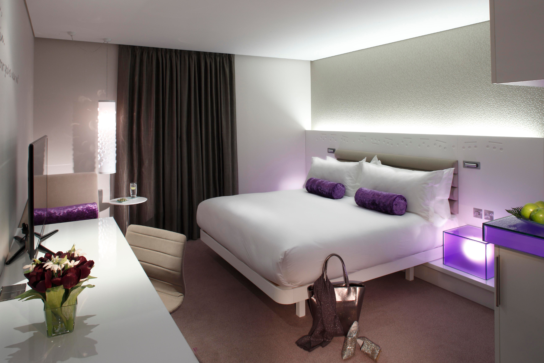 Hotel Fitout-Morrison Hotel-Bedroom 2