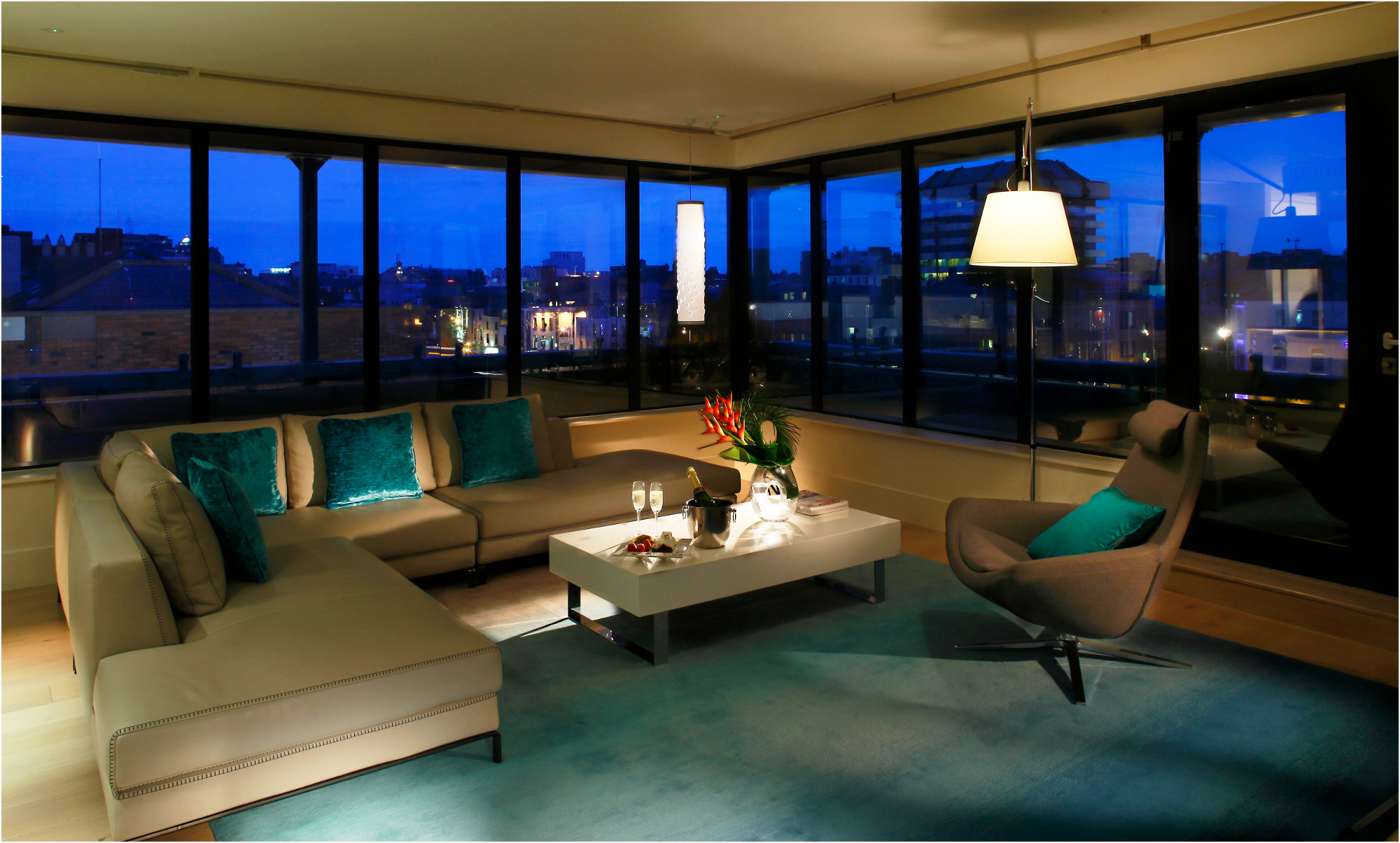 Hotel Fitout-Morrison Hotel-Penthouse Suite Lounge
