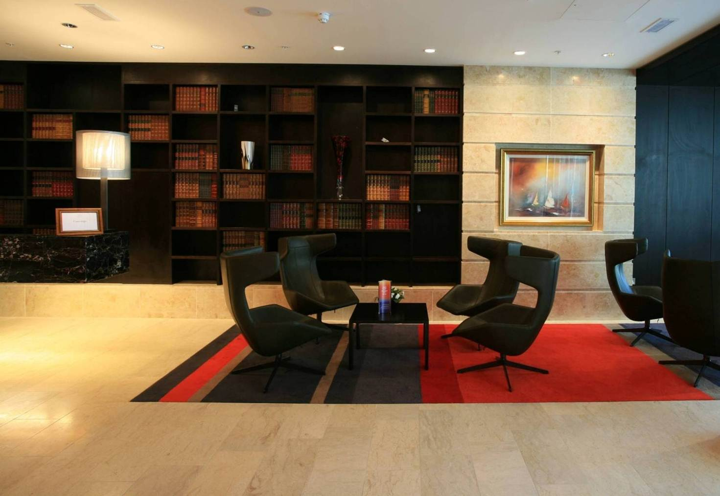 Hotel Fitout-Sheraton Athlone-Foyer Library