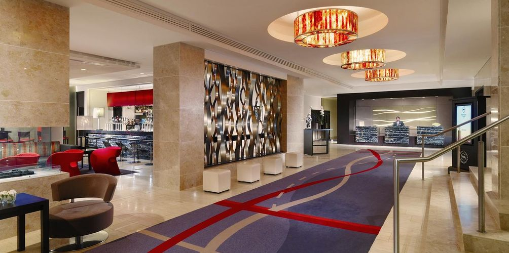 Hotel Fitout-Sheraton Athlone-Foyer
