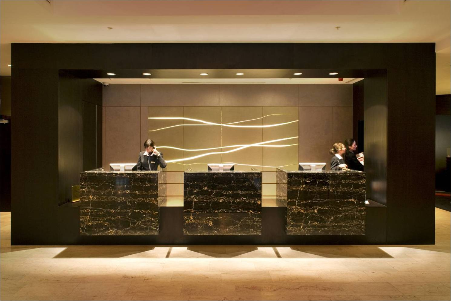 Hotel Fitout-Sheraton Athlone-Reception