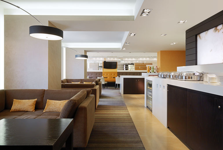 Hotel Fitout-Sheraton Moscow-Club Lounge