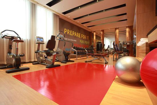 Hotel Fitout-Sheraton Moscow-Gym