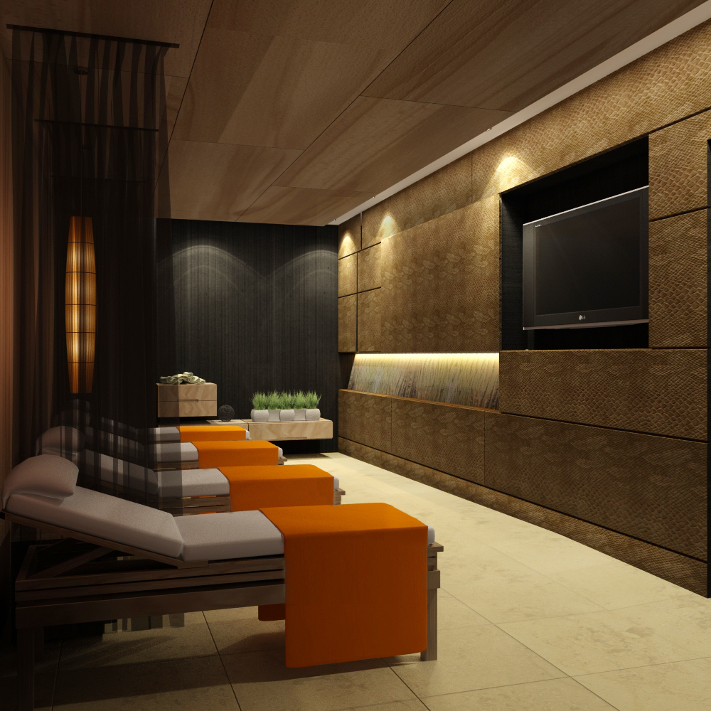 Hotel Fitout-Sheraton Moscow-Spa Relaxation Room