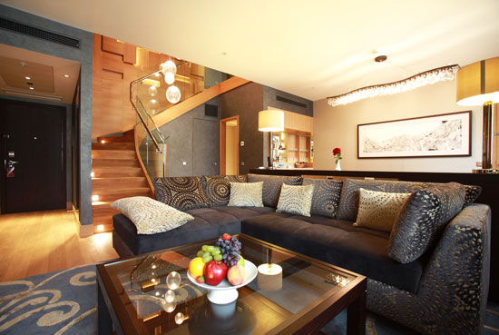 Hotel Fitout-Sheraton Moscow-Suite Downstairs