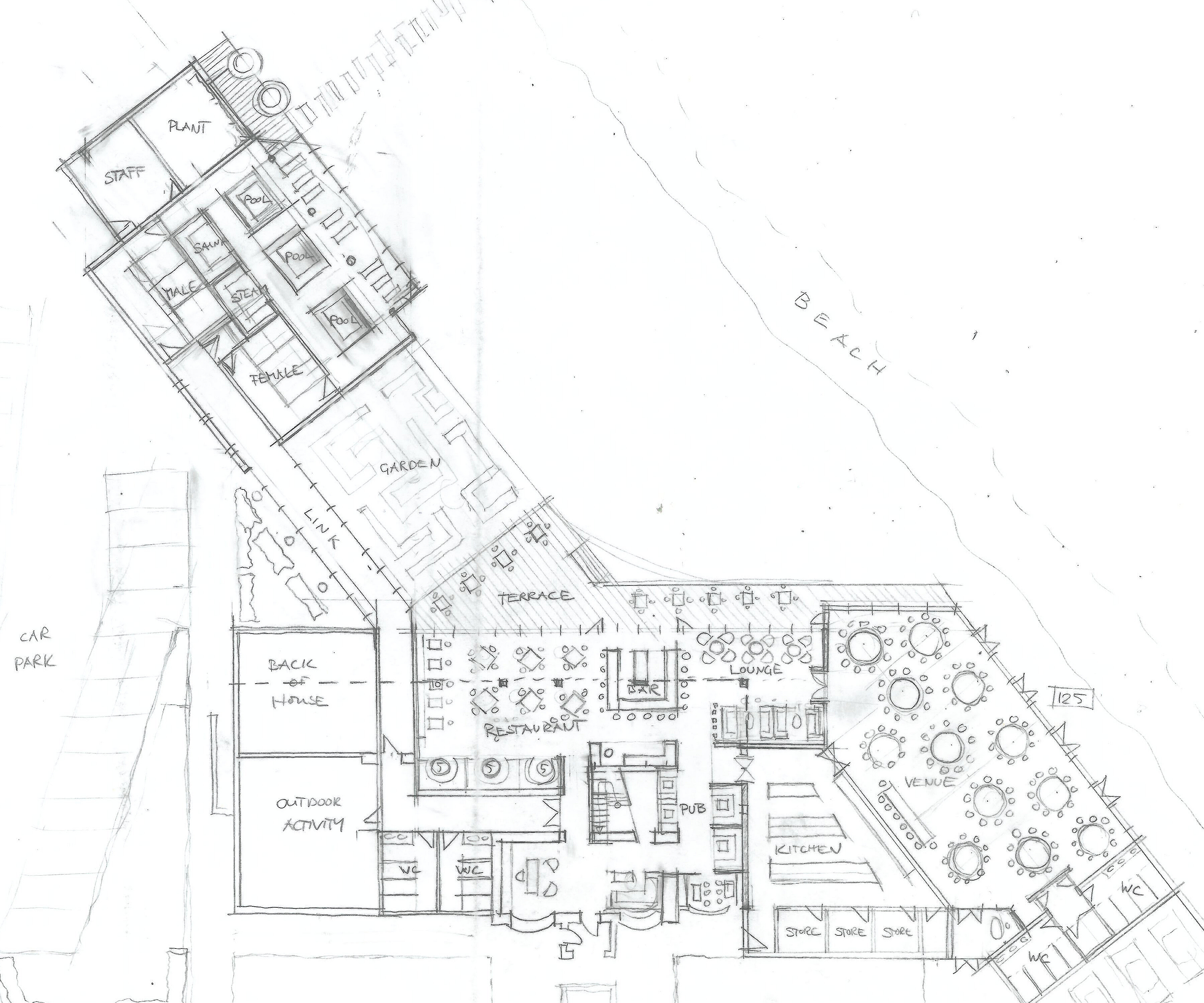Hotel Fitout-Smugglers Inn- Masterplan