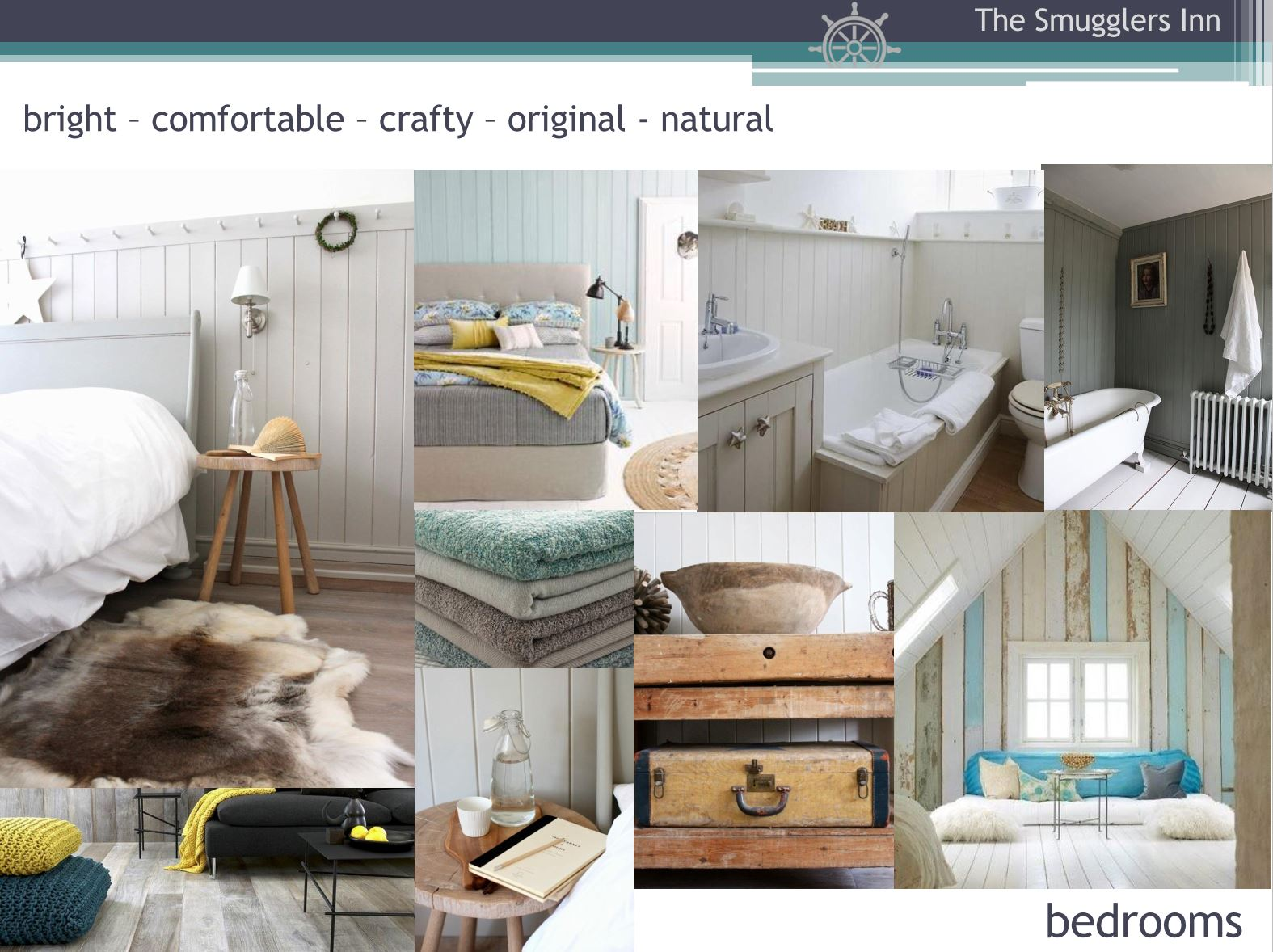 Hotel Fitout-Smugglers Inn-Mood Board-Bedrooms