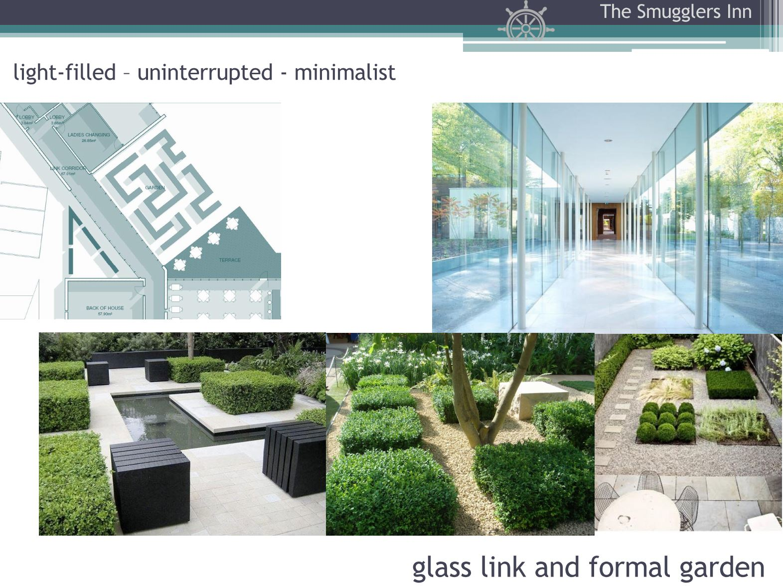 Hotel Fitout-Smugglers Inn-Mood Board-Formal Garden