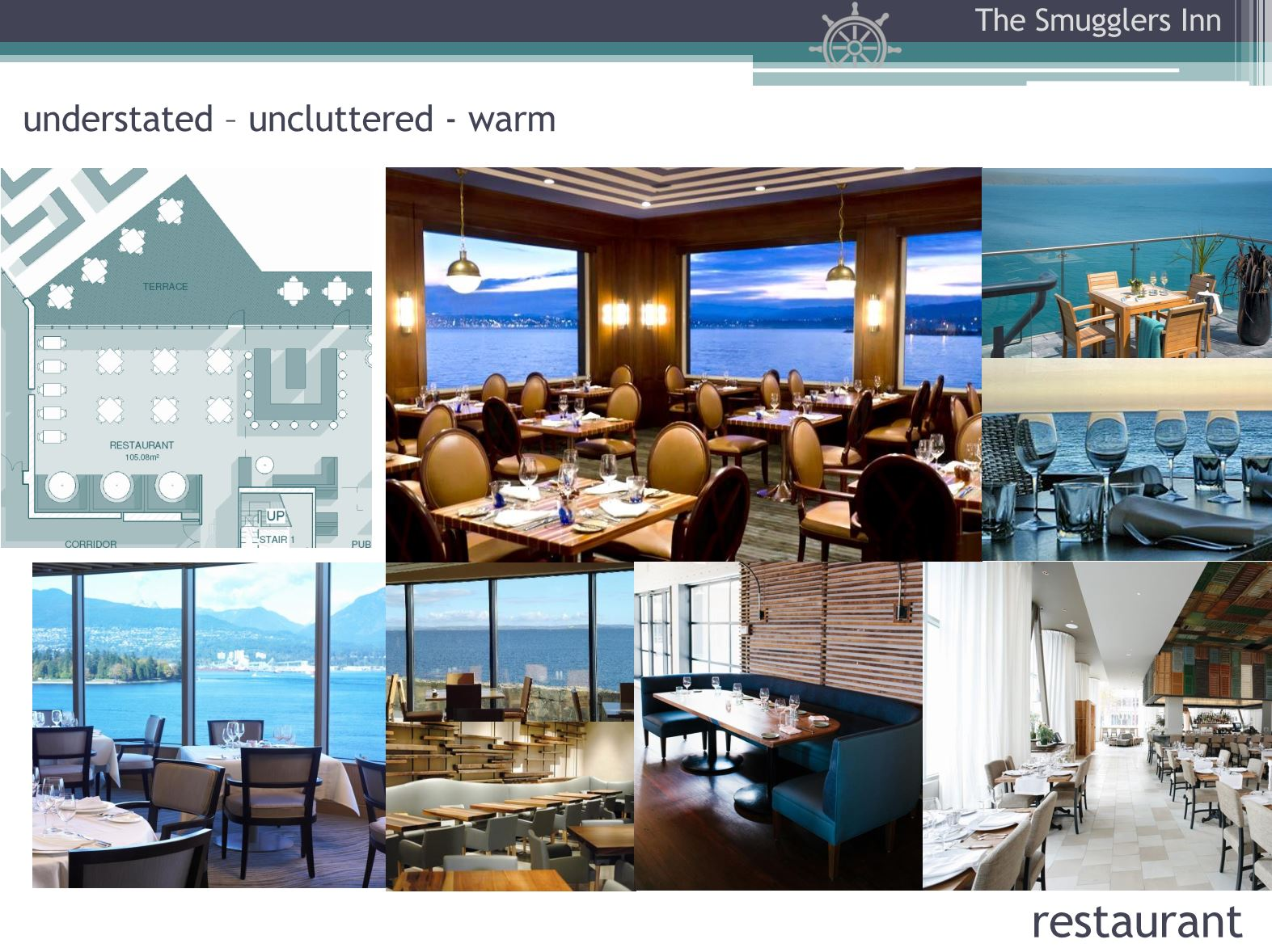 Hotel Fitout-Smugglers Inn-Mood Board-Restaurant