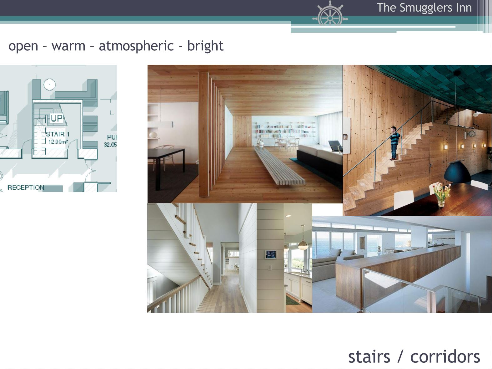 Hotel Fitout-Smugglers Inn-Mood Board-Stair Hall