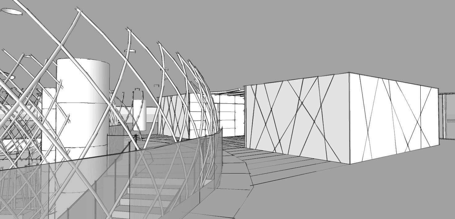 Hotel Fitout-Vietnamese Cultural Centre-Concept Lift Blocks