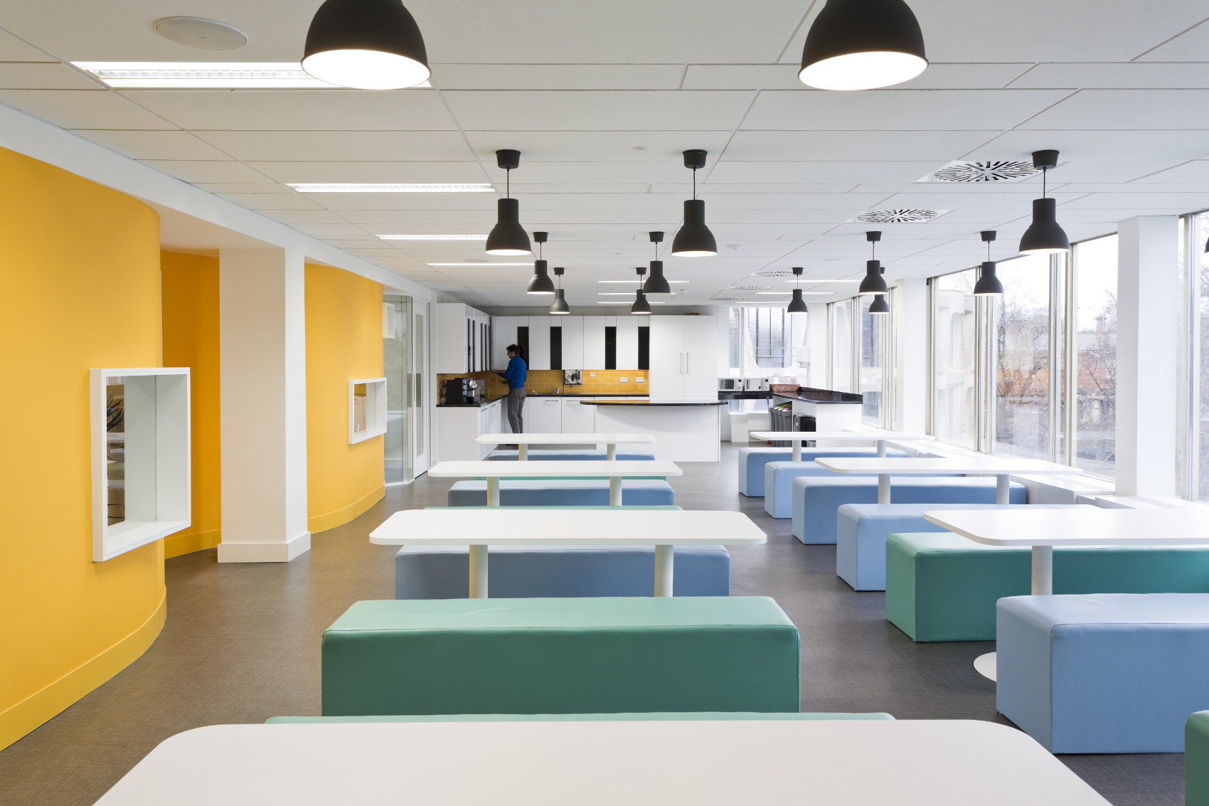 Office Fitout-CurrencyFair-Canteen