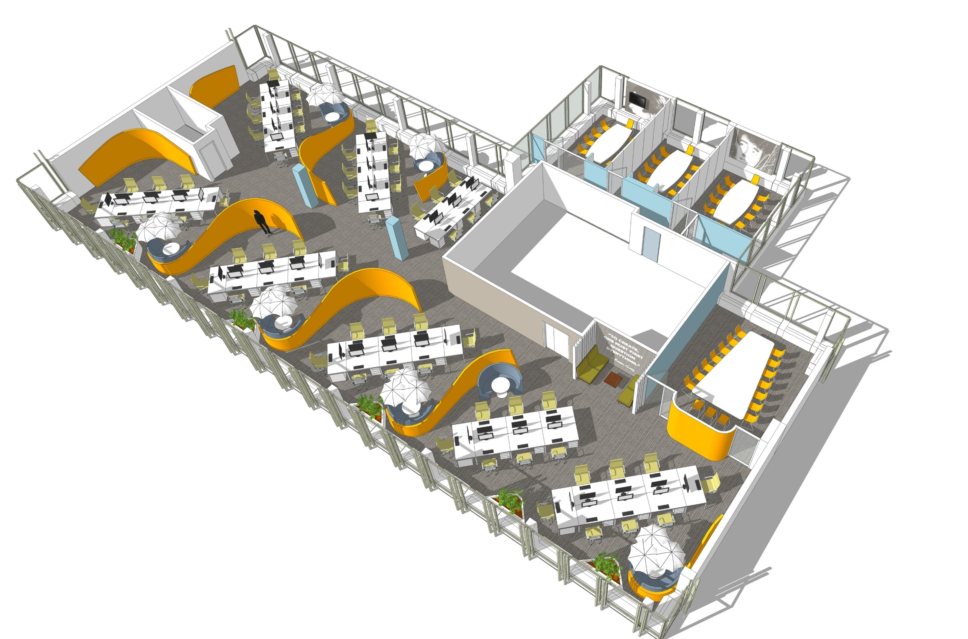 Office Fitout-CurrencyFair-Floor Plan 01