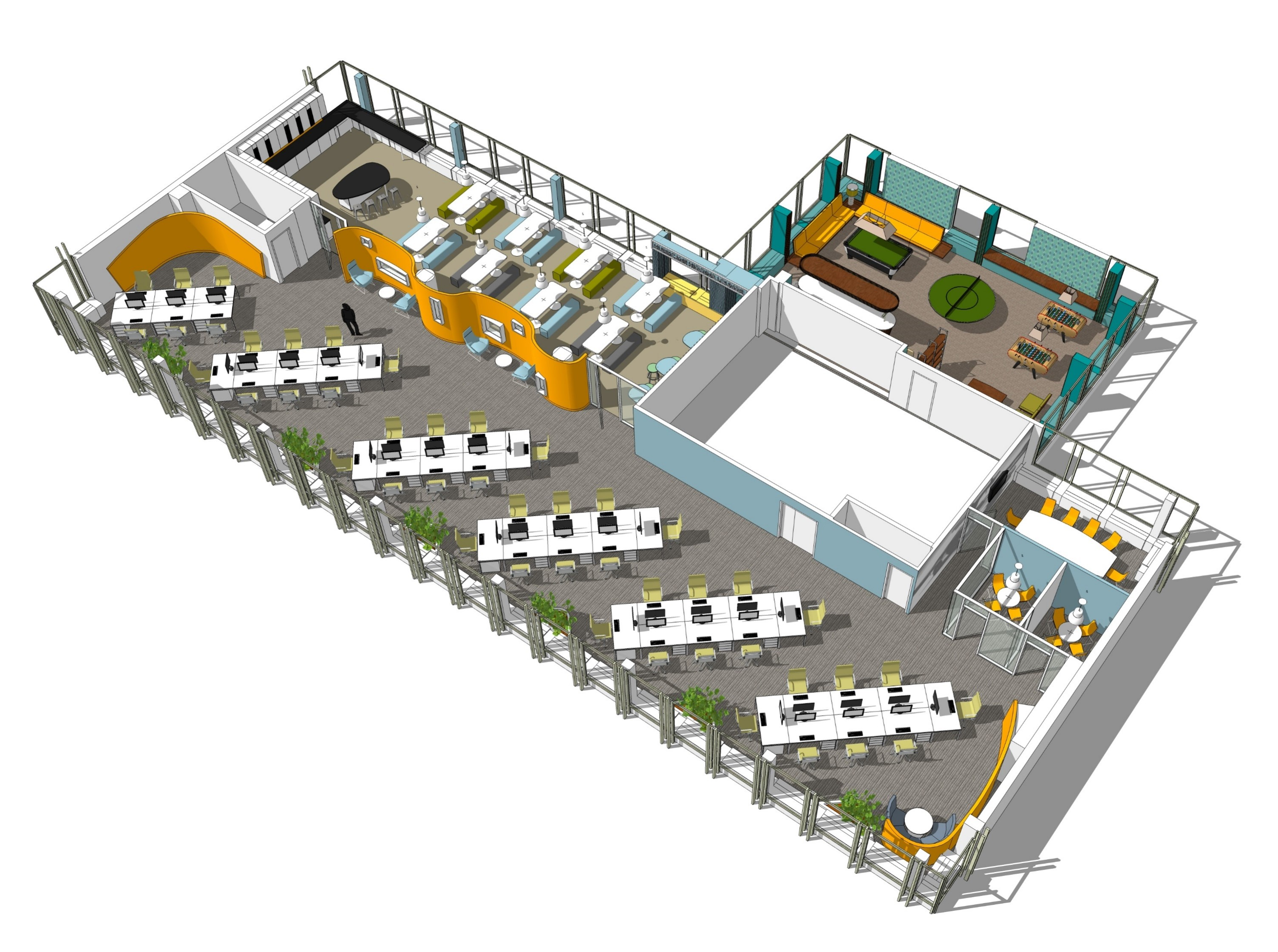 Office Fitout-CurrencyFair-Floor Plan 02