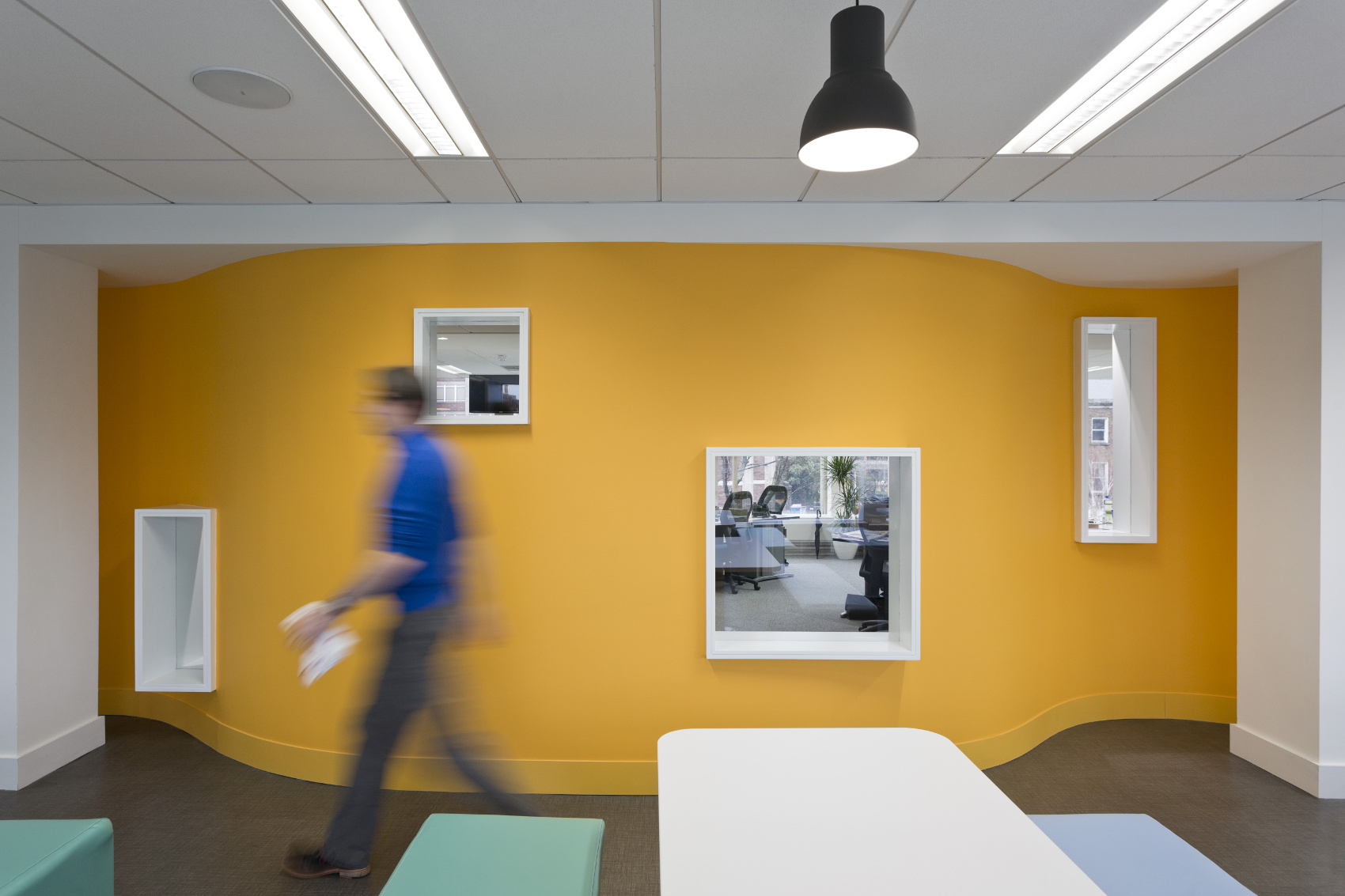 Office Fitout-CurrencyFair-Perforated Wall