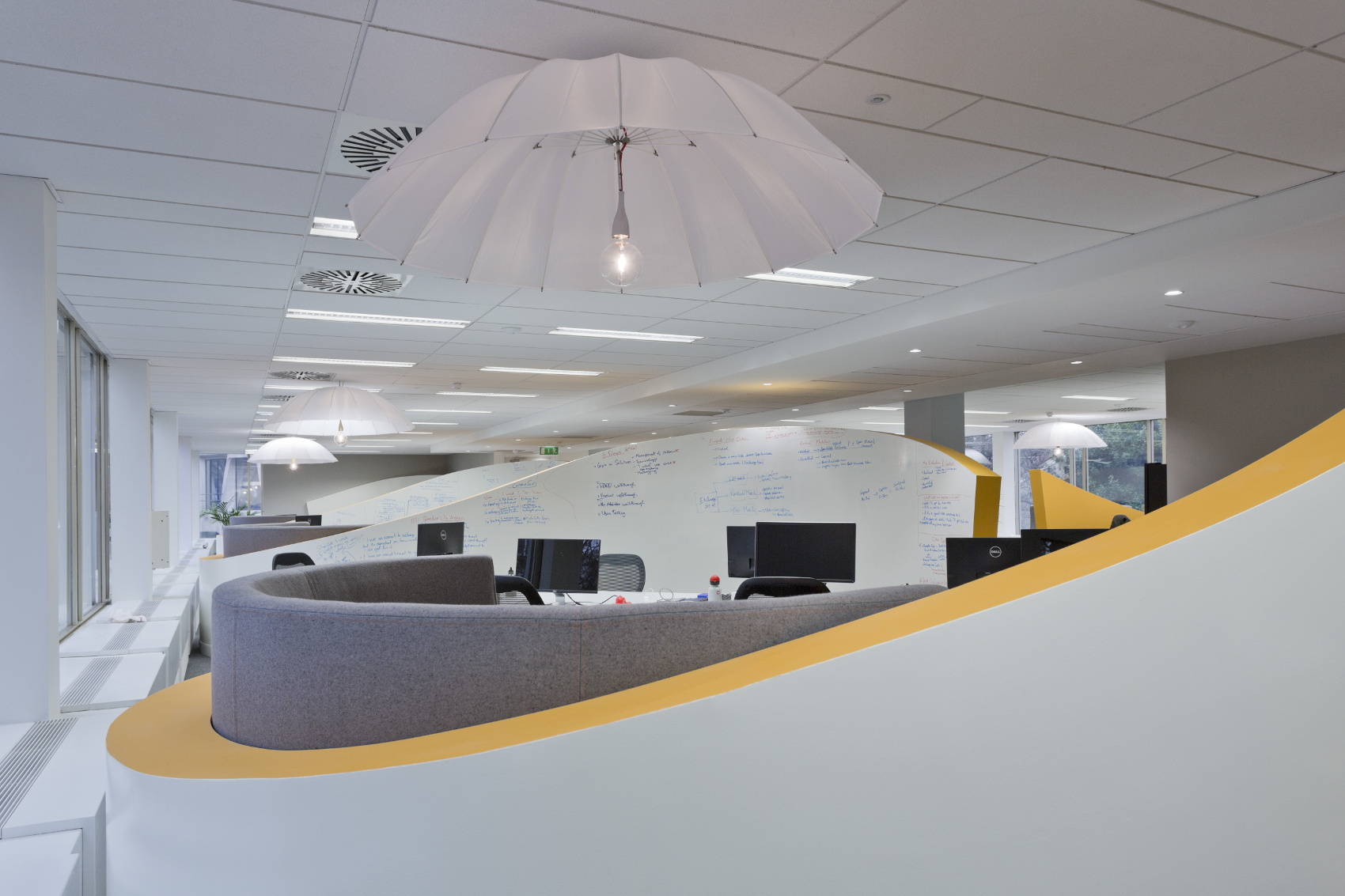 Office Fitout-CurrencyFair-Project Team Zones