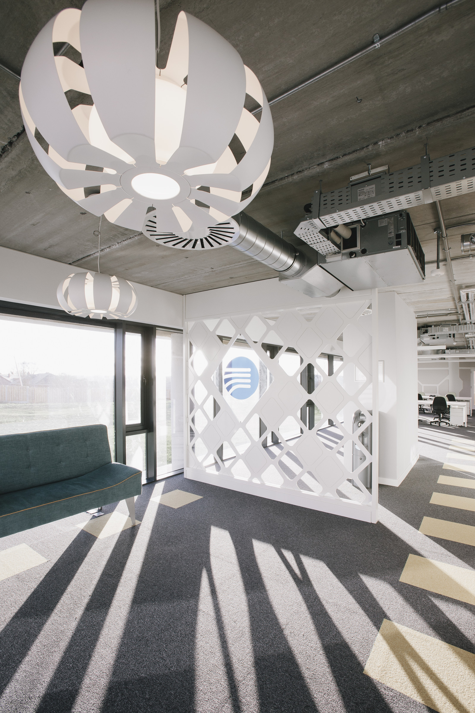 Office Fitout-Vistamed-Reception Screen