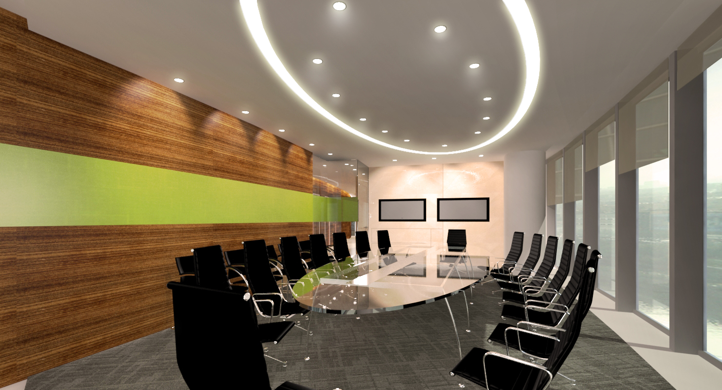 Office Fitout_SMBC Bank Moscow_Board Room Concept