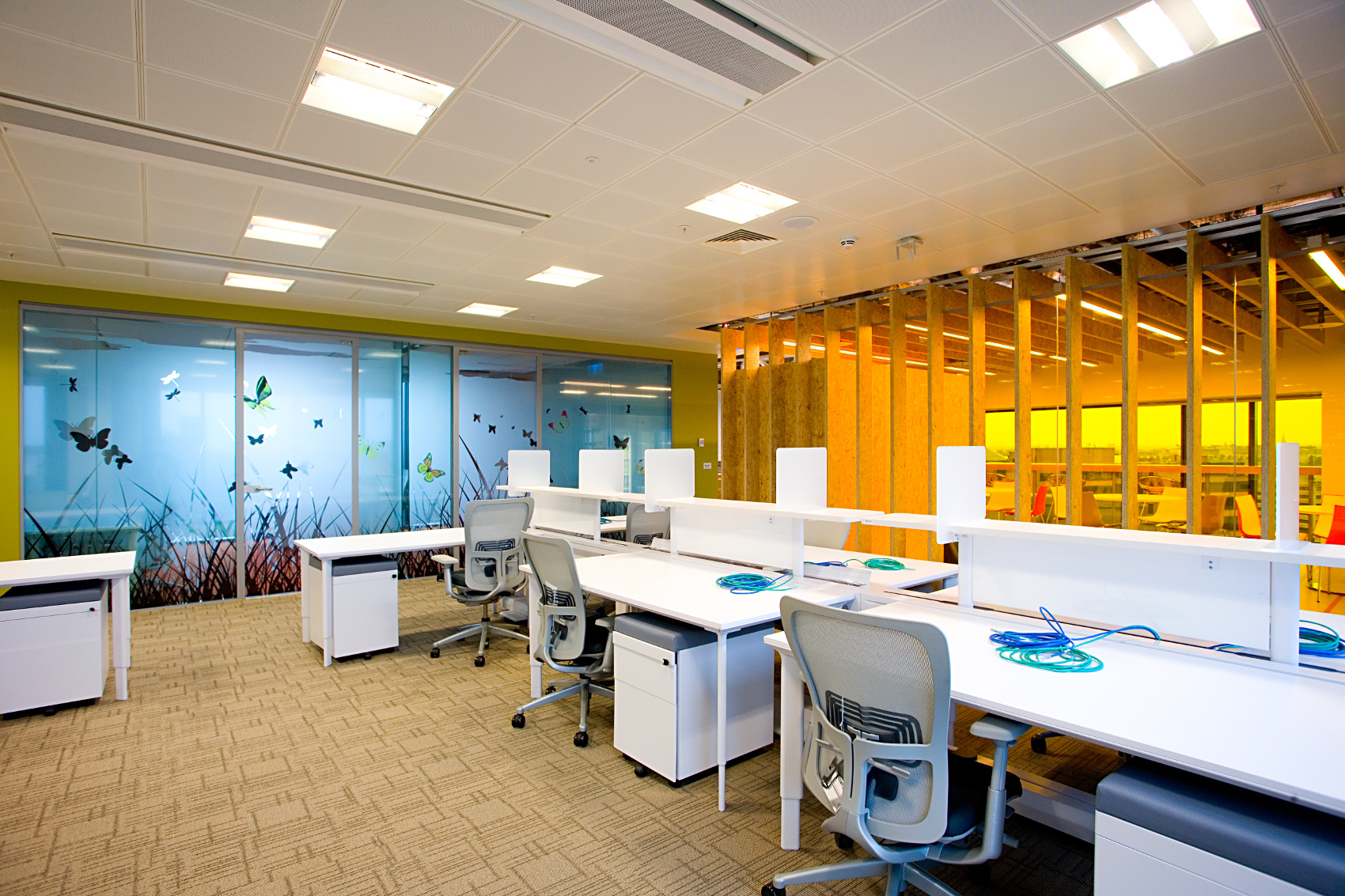 OfficeFitout_Google Docks Dublin-Open Plan and Kitchenette