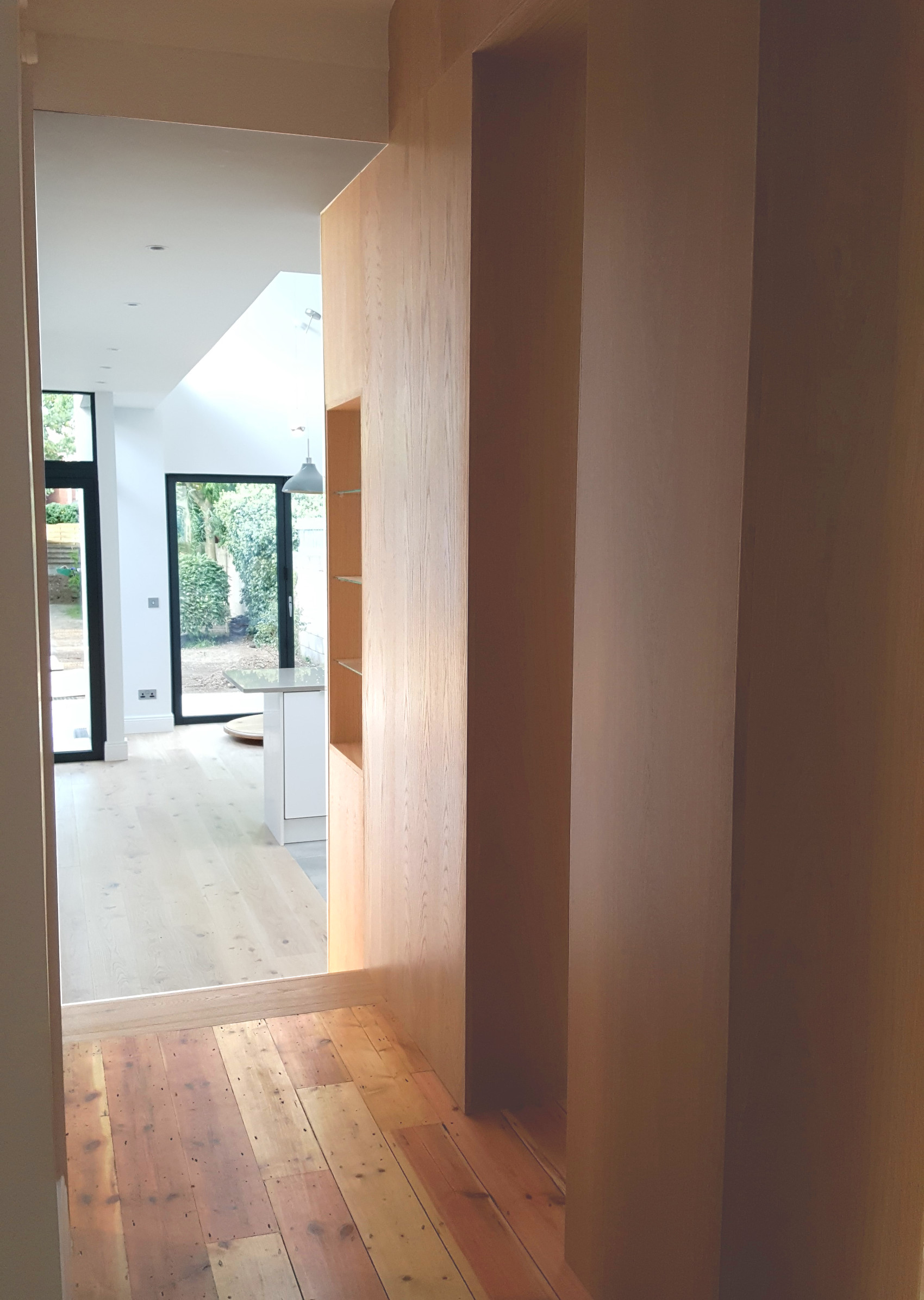 Residential Design -Kincora Road-Corridor Joinery