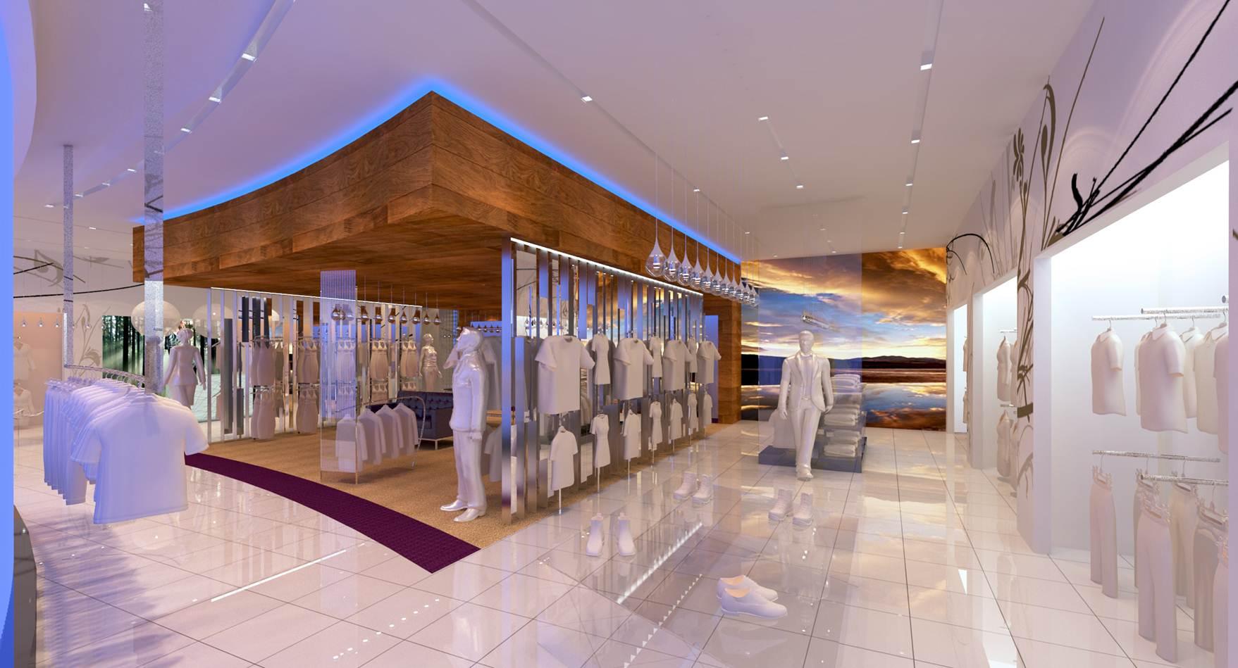 Retail Fitout-Azure Dublin Airport-Shop Concept